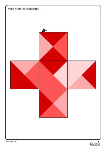 Puzzleteile Farbpuzzle