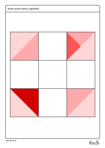 Arbeitsblatt Farbpuzzle