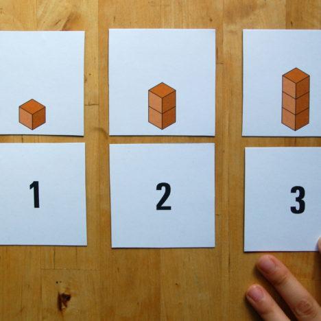 Formenpaare finden – Spielerische Wiederholung der Grundformen