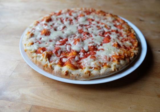 Foto einer Pizza