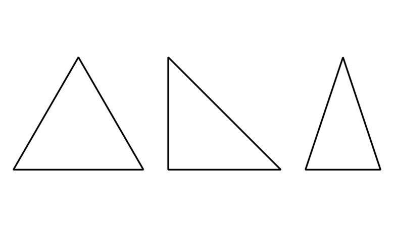 Dreiecksarten