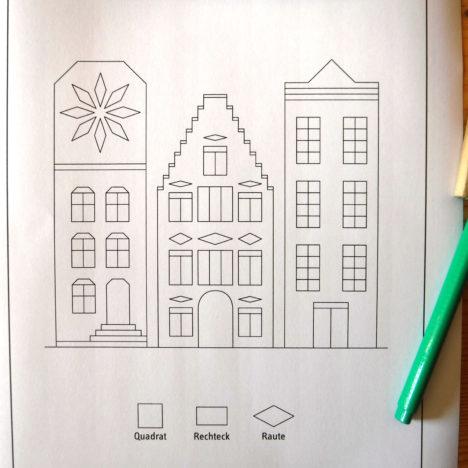 Wie ihr schnell, einfach und mit Spaß lernt Vierecke zu zeichnen